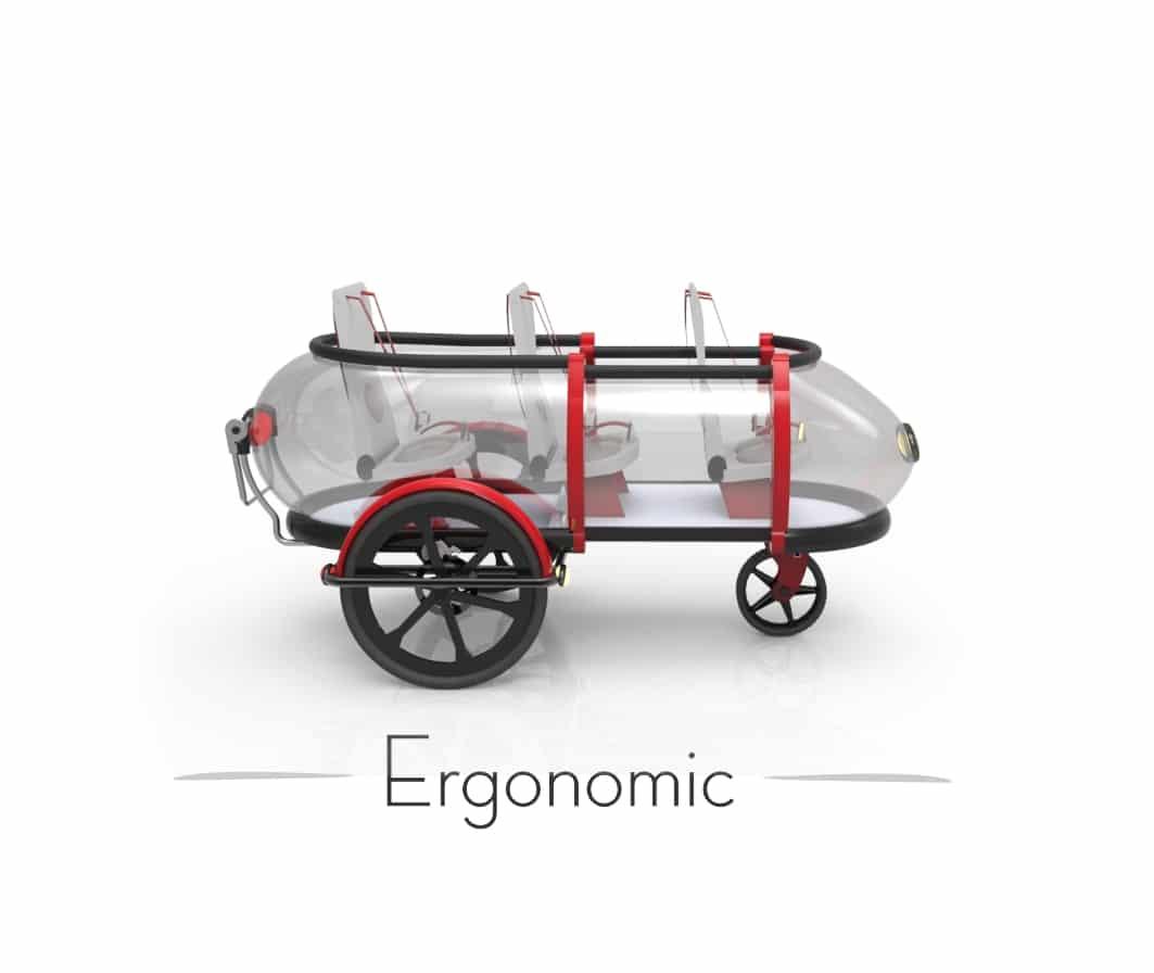 SideBuddy Ergonomic by jordi Hans Design 2